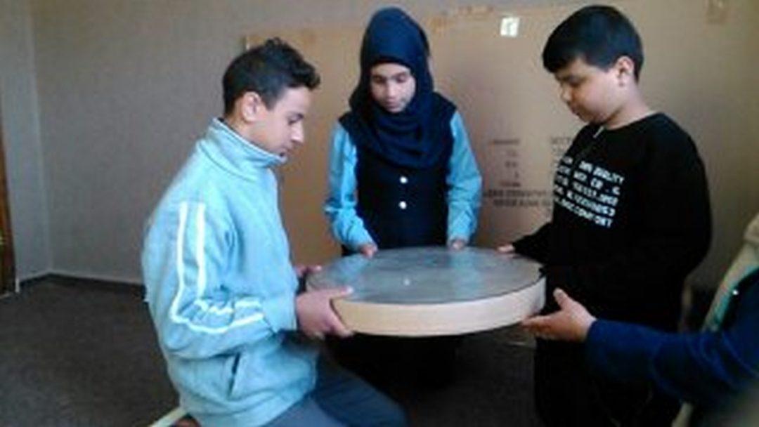 Workshop mit Kindern in Beit Hanina
