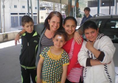 Workshop in refugee camp