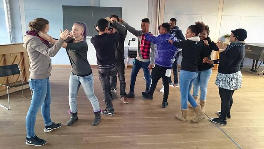 Arbeit mit Migranten
