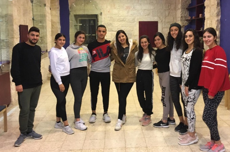 New theater project with students from Palestine and Rosenheim
