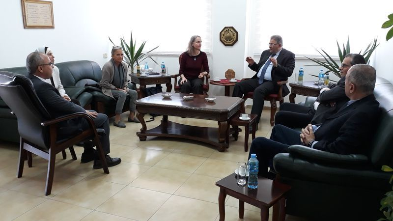 Report: Karin and Sibylle's visit in AlQud's University
